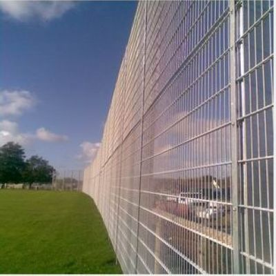 China Galvanized Steel Security Fence Haotian Hardware