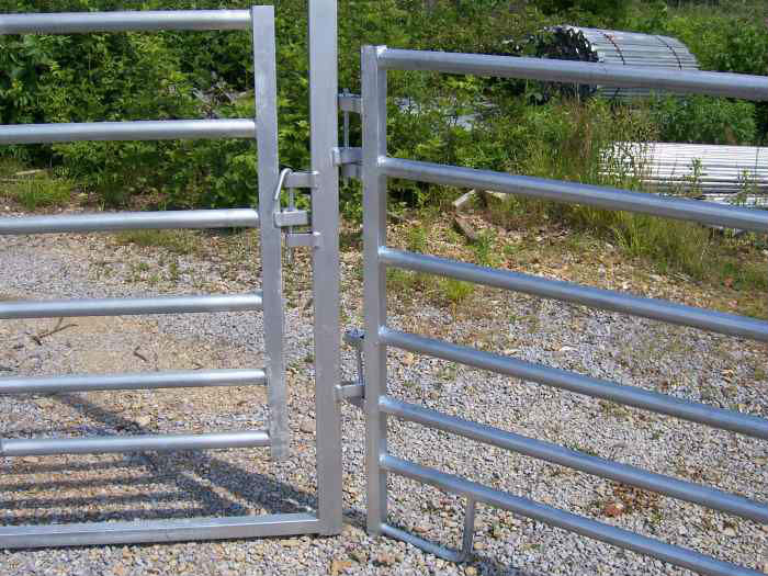 China Hot Dipped Galvanized Welded Mesh Fence Haotian